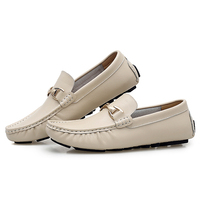 Men Casual Shoes Brand Leather Male Driving Shoes Handmade Quality Man Loafer Shoes Flats Moccasins 19D50