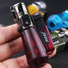 Portable Spray Gun Welding Torch Lighter Nozzle Butane Jet Gas Lighter Turbo 1300 C Windproof Cigar Pipe Lighter Outdoor