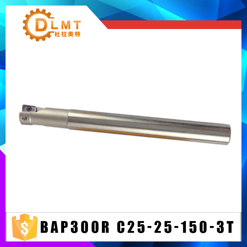 1pc BAP300R C25 25 150 3T Milling Cutter Holder BAP 300R Roughing Pocket Sloot Plung Shoulder Copy Milling For Cutting Tool1pc BAP300R C25 25 150 3T Milling Cutter Holder BAP 300R Roughing Pocket Sloot Plung Shoulder Copy Milling For Cutting Tool