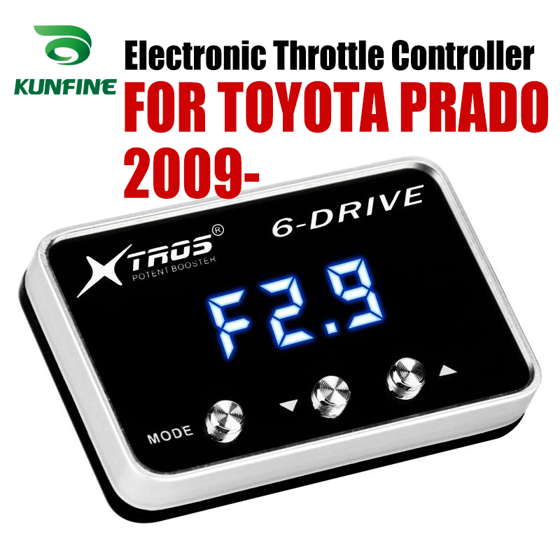 Car Electronic Throttle Controller Racing Accelerator Potent Booster For TOYOTA PRADO 2009-2019 Tuning Parts Accessory