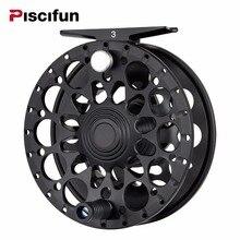 Piscifun Crest Schwarz Fliegenrolle Voll Versiegelten Drag CNC Gefräste Aluminium Legierung Rechts Links Abrufen Fliegenfischen Rad
