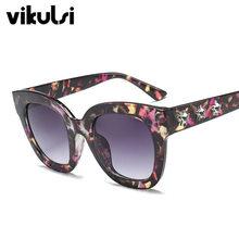 2018 Nouvelle Marque De Luxe Designer Dames Surdimensionné Cat Eye lunettes  de Soleil Femmes Diamond Star Cadre Miroir Lunettes . 11a81cc94ff