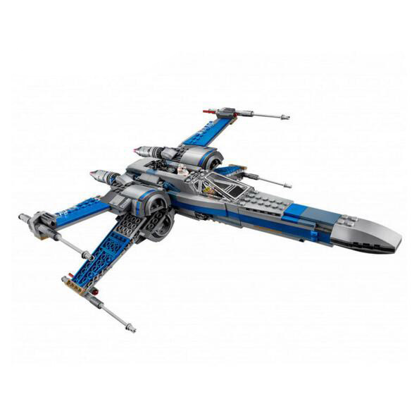LEPIN 05029 740pcs Star Wars First Order Poe's X-wing Fighter Building Block Toys Compatible with Lepin 75149 конструктор lepin star wnrs истребитель сопротивления x wing fighter 740 дет 05029
