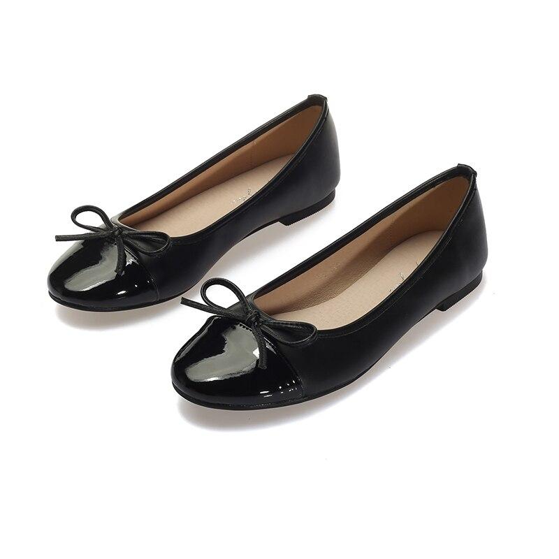 Grande Conduite Dames Ballet Ol Travail noir Simple Souple Semelle Taille Casual Plates Mode Appartements Femmes Beige Enceintes Chaussures Szwgq0qx