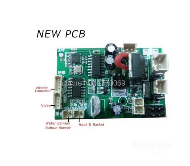 online shop new pcb receiver board with video functions for oldonline shop new pcb receiver board with video functions for old version wltoys v912 rc helicopter aliexpress mobile