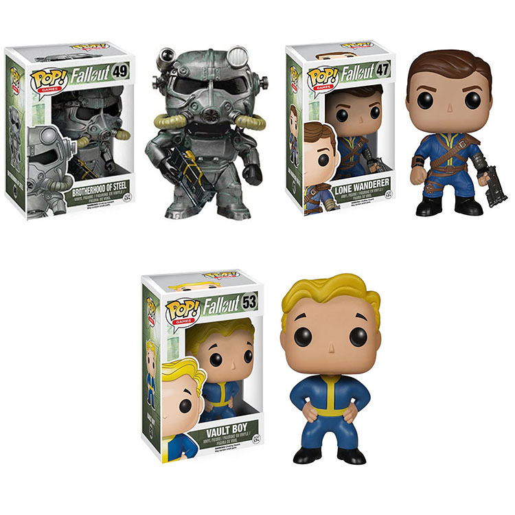 Funko pop Horror Movie: Fallout 4 Vinyl Figure Collectible Model Toy with Original Box