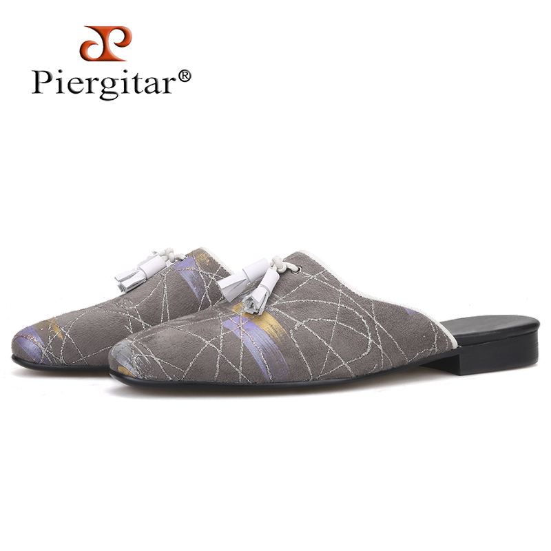 Fashion Men/'s Handmade Color Stitching Strappy Flats Slingback Casual Sandals