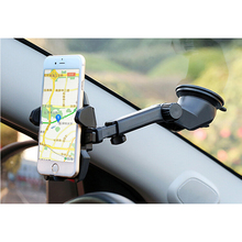 Universal Car Phone Holder Expansion Long Rod Mobile Phone Holder Car Suction Windshield Mount For iphone Samsung xiaomi Stand