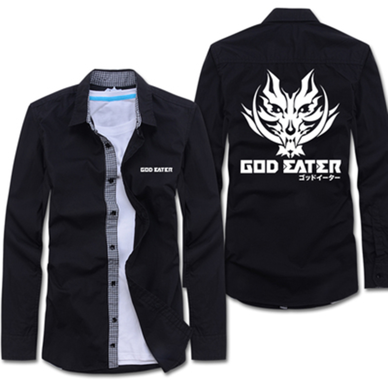 Anime GOD EATER Cosplay Soma Schicksal Cos Halloween Party Lapel a cardigan shirt 15 colors can choose