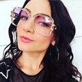 Fashion Square Sunglasses Women Brand Designer Retro Men Women Sun Glasses Thick Frame Spectacle Glasses UV400 F004