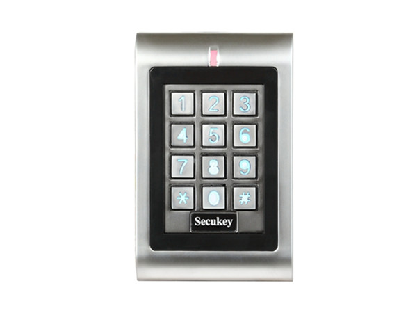 SK1-W Direct Factory Keypad & EM Reader Waterproof Conforms To IP66 Anti-vandal 125KHZ EM Card Facility Code Programmable