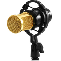High Quality Professional Condenser Usb Sound Recording Mic Bm 800 3 5 Mm Jack Microphone Shock