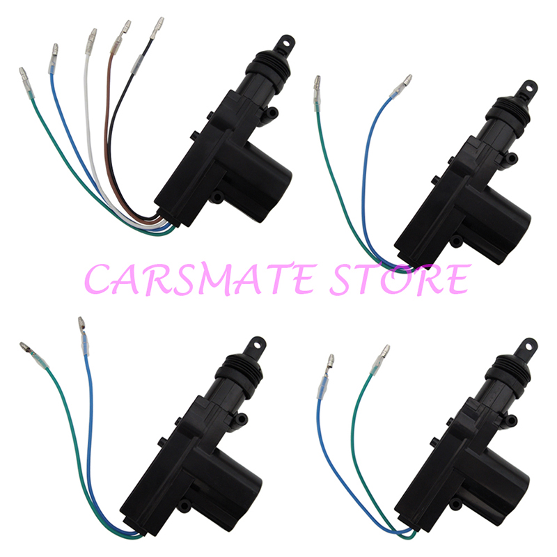 Quality Car Central Door Locking System Suitable for DC 12V Cars Many Blank Keys Are Selectable for 2 Remote Controls Carsmate