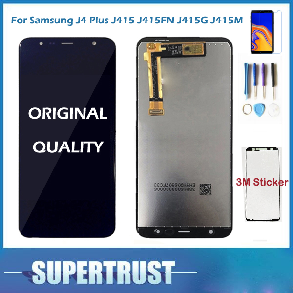 Original For Samsung Galaxy J4+ 2018 J4 Plus J415 J415F J410 J6 Prime J6 Plus 2018 J610 LCD Display Touch Screen Sensor+ KitOriginal For Samsung Galaxy J4+ 2018 J4 Plus J415 J415F J410 J6 Prime J6 Plus 2018 J610 LCD Display Touch Screen Sensor+ Kit