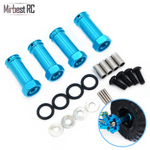 Mirbest RC DIY Parts For Wltoys 12428 12423 FY-03 JJRC Q39 Car Metal Extension bonder Adapter Upgrade accessories