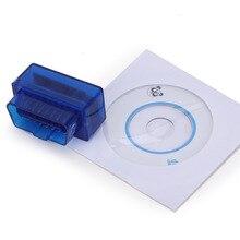 Мини ELM327 сканер Bluetooth OBD2 OBD II диагностический инструмент считыватель кодов ELM 327 V2.1 OBD 2 адаптер для Android/Symbian