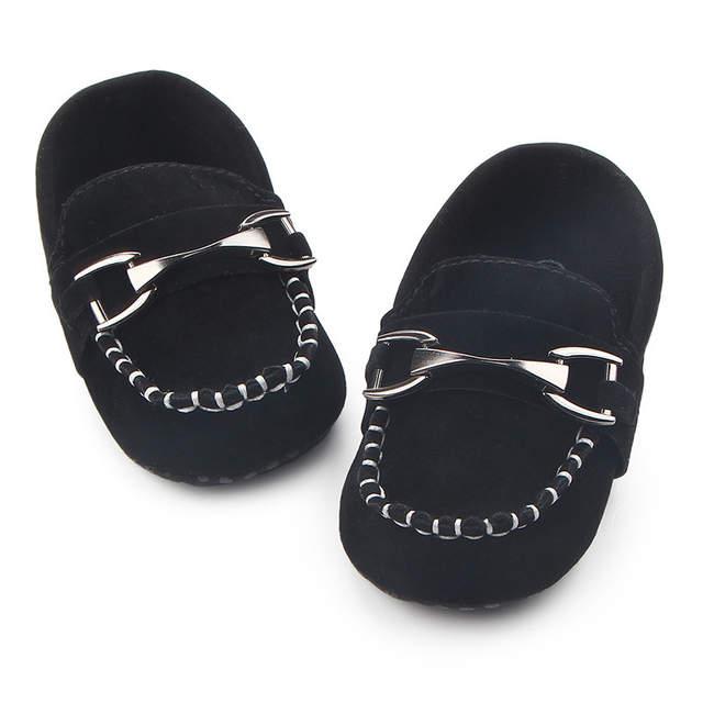 a50dedcbb placeholder Bonito Couro Mocassins sapatos de Bebê Sapatos Meninos Meninas  Nova Chegada Do Bebê Recém-nascido