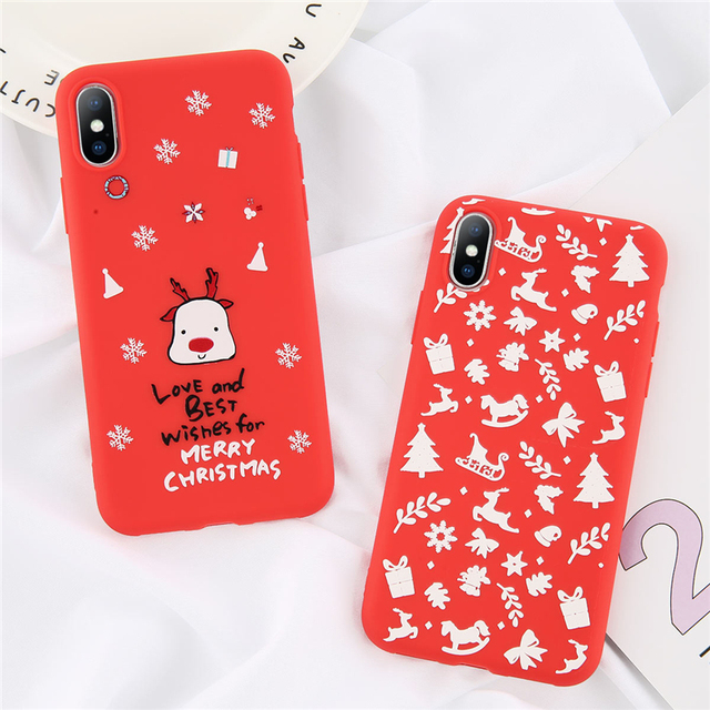 Christmas Phone Case For Apple iPhone
