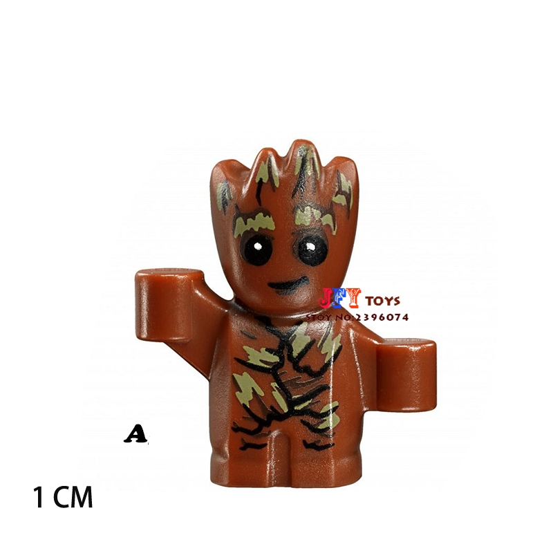 Single star wars super heroes building blocks Guardians of the Galaxy model bricks toys for children brinquedos menino