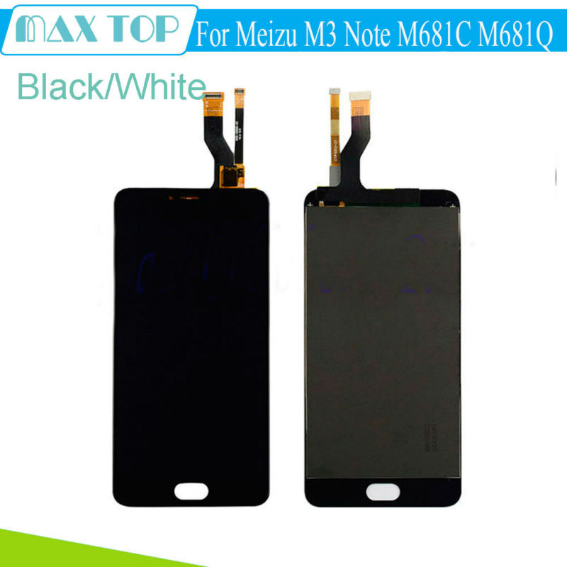 Full LCD DIsplay Touch Screen Digitizer Assembly For Meizu M3 Note TD LTE M681C M681Q for