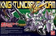 Bandai Gundam LEGGENDA BB CAVALIERE UNICORN GUNDAM Mobile Suit Assemblare Kit Modello Action Figures giocattoli Per Bambini