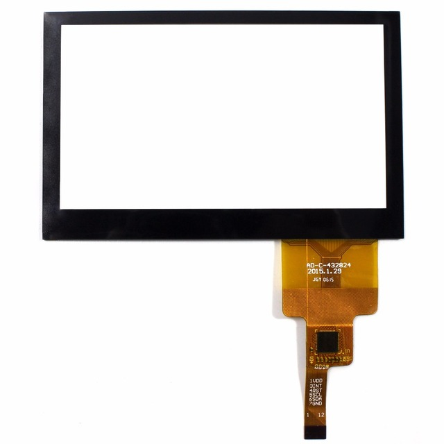 """4.3"""" Capacitive Touch Panel 105.8mmx67.5mm For 480x272 AT043TN24 Multi Tocuh"""