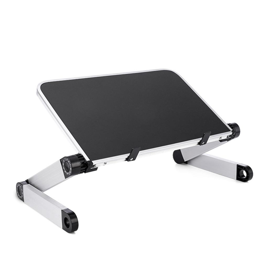 Mini Laptop Stand Lap Desk for Bed Couch Folding Adjustable Multifunctional Ergonomic Height 360 Degree Angle(China)