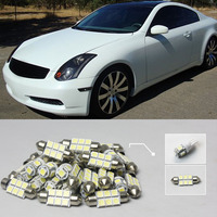 Fast Shipping 22 8x White LED Lights Car Auto Interior Dome Map Reading License Plate Kit