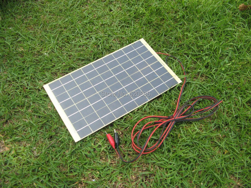 Rv Solar Battery Charger System : Hot w v portable solar trickle battery charger for