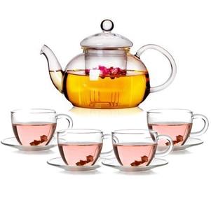 juego de té especial de vidrio resistente al calor taza de té - Cocina, comedor y bar