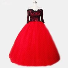 RSE272 Yiaibridal Three-Quarters Sleeve Wedding Dress