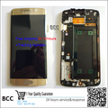 100% nuevo original para samsung galaxy s6 edge g925 g925f g920v g920a g920t lcd pantalla + touch pantalla digitalizador + marco probado