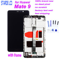 For Huawei Mate 9 LCD Display Touch Screen Digitizer For Mate9 LCD With Frame MHA L09 MHA L29 Screen Replacement Parts + Tools