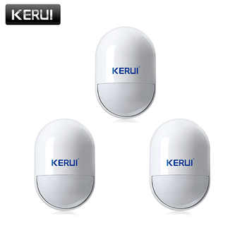 KERUI 3pcs/lots Wireless PIR Movement Motion Detector Sensor For GSM PSTN Home Security Voice Alarm System - DISCOUNT ITEM  15% OFF All Category