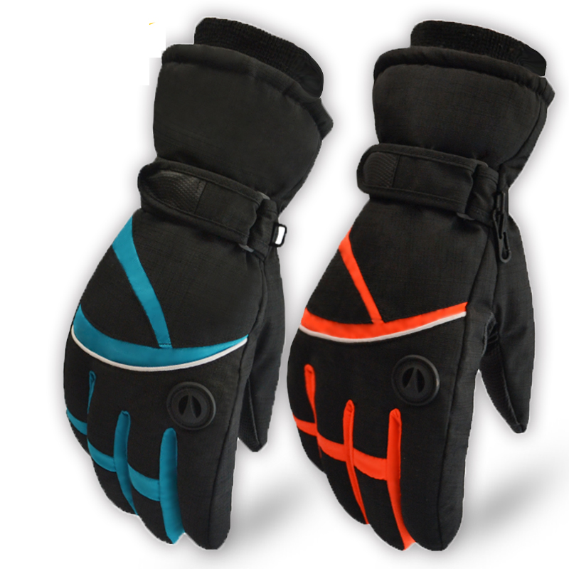 The new men and women in winter Korean cute thickening warm outdoor skiing equipment climbing gloves