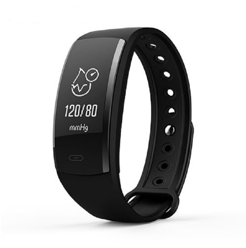 QS90 Blood Pressure Smart Bracelet Heart Rate Monitor Blood Oxygen Monitor IP67 Fitness Tracker for Andriod IOS VS QS80
