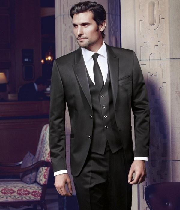 The latest smart black suit best man suit/men marry two ...  The latest smar...