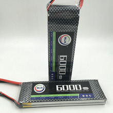 MOS 2S lipo battery 7.4v 6000mAh 35C For rc helicopter rc car rc boat quadcopter Li-Polymer battey