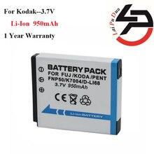 Nova de Substituição para Kodak Alta Qualidade 950 Mah Bateria Klic-7004 Klic 7004 Klic7004 K7004 Np-50 NP 50a D-li68 D Li68 Dli68