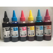 6PCS 100mL Refill Ink Kit for Epson T6731 / T6741 L800 L801 printing ink Cartridge