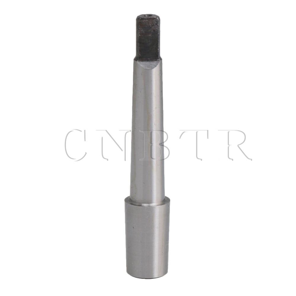 CNBTR No. 1 Morse Taper MT1 With B16 Drawbar Adapter Arbor for Drill Chuck Drill Adapter