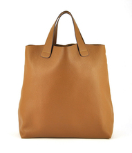 Women Genuine Real Leather Large Tote Bag Shopper Shopping Purse Shoulder Fashion Handbag Vintage Daily Casual Designer Lady