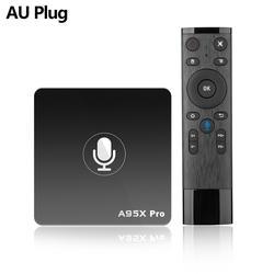 2018 A95X pro Android 7,1 Smart tv Box четырехъядерный 2 ГБ/16 ГБ Смарт медиаплеер AU
