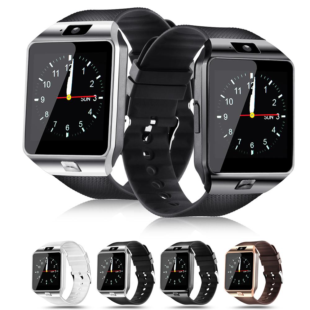 668bb0c78b0f1 ... LEMFO Smartwatch DZ09 Smart Watches Support SIM Card Camera Bluetooth  dz09 Battery Smart Watch Men Women ...