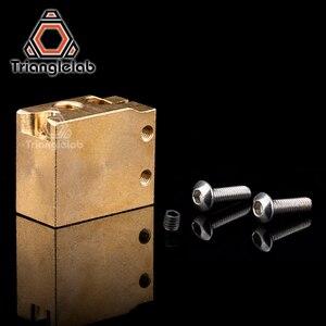 Image 5 - trianglelab H59 copper volcano heater block  Hardened Steel Volcano Nozzles titanium alloy heat break High temperature kit PT100