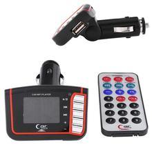 """1.44 """"ЖК Беспроводной FM Передатчик Автомобильный Авто MP3/MP4 Плеер SD/TF USB для Дистанционного Управления"""