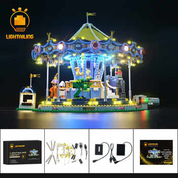 LIGHTAILING LED Light Kit For Creator Expert The New Carousel  Light Set Compatible With 10257 (NOT Include The Model) - DISCOUNT ITEM  35% OFF All Category