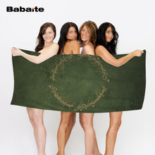 The Lord Green Beach Towel Fashion Swimming Towel Travel Blanket Bath Towel Microfiber
