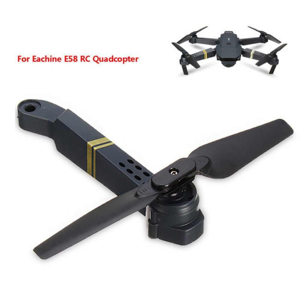 Professionelle Einfach Zu Installieren FÜR E58 WIFI FPV RC Quadcopter Achse Arm Ersatzteile mit Motor & Propeller Liefert