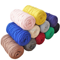 17 Colors 420g Fancy Yarns For Hand Knitting Woven Thread Thick Cotton Cloth Yarn DIY Bag